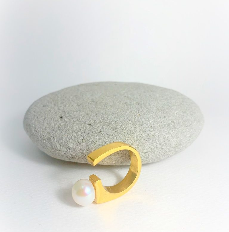 goldpalted ring