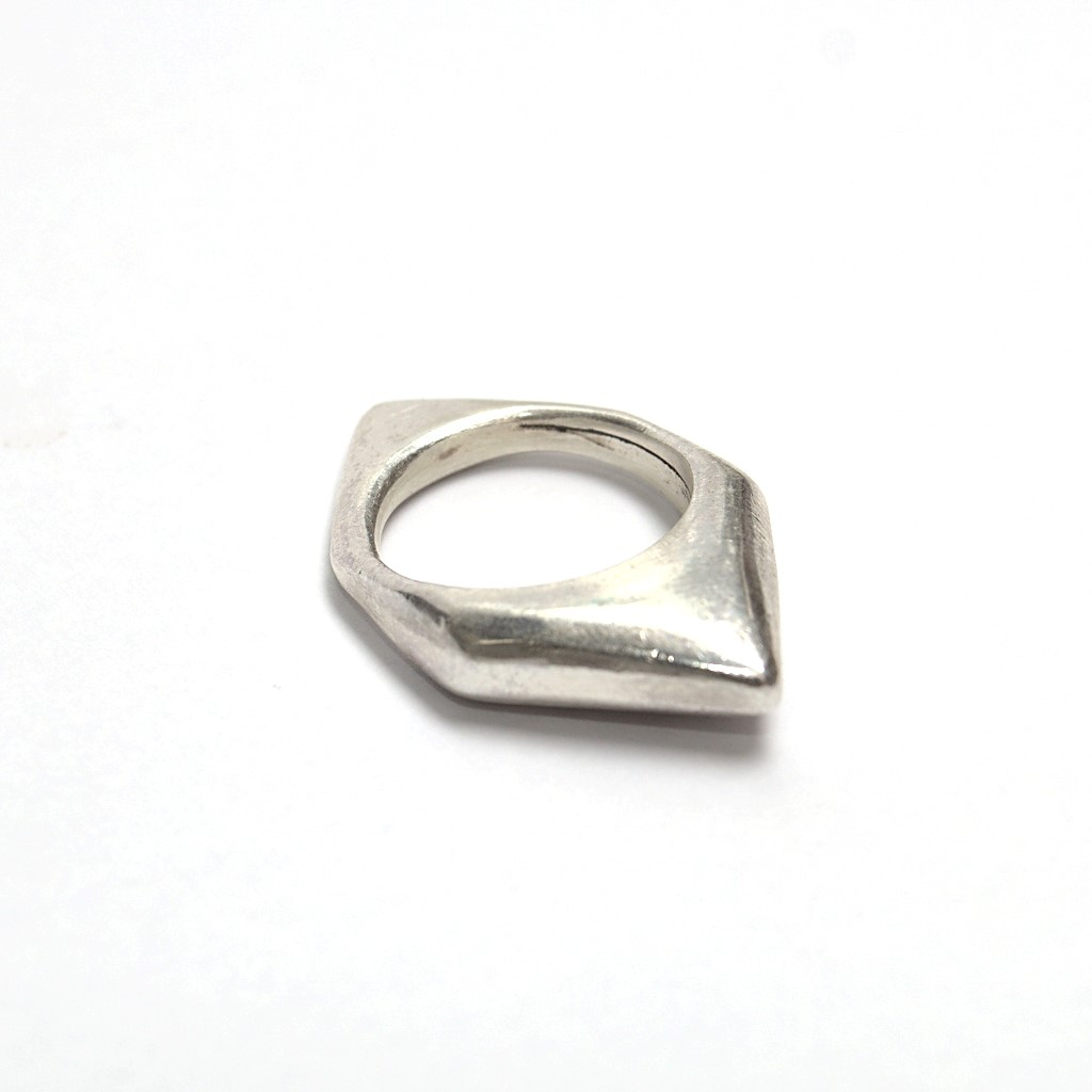 silver ring handmade